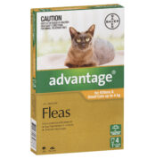 Advantage Fleas For Kittens & Small Cats Up To 4kg - 4 Pack-0