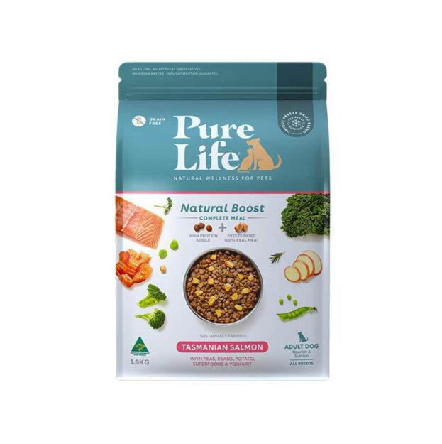 pure life adult dog salmon 1.8kg
